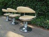 Gastone Rinaldi Barber chairs Italia 1960_