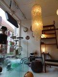 Schelpenlamp vintage 70's, Verner Panton?!_