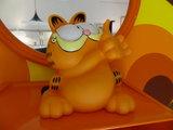 Big Garfield Phone Holder, Rare_
