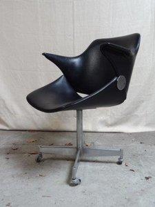 Artifort Bureaustoel Vintage.Geoffrey Harcourt Bureaustoel Artifort Diexvintagedesign