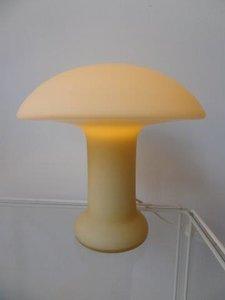 Von Hulstaedt Mushroom tafellamp 1970's / GERESERVEERD