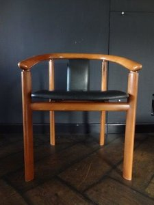 Skovby leather chairs, 4