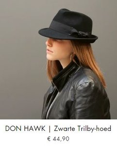 Don Hawk, Herman hat